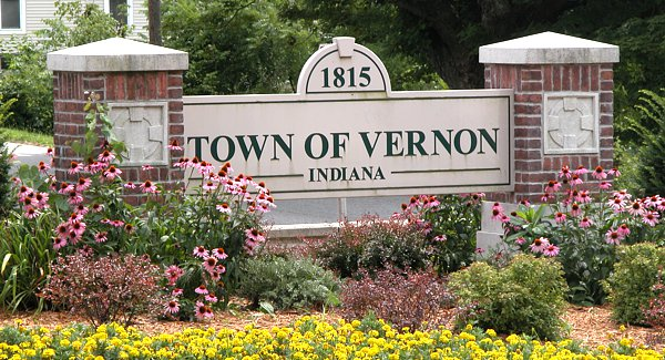 town of vernon sign